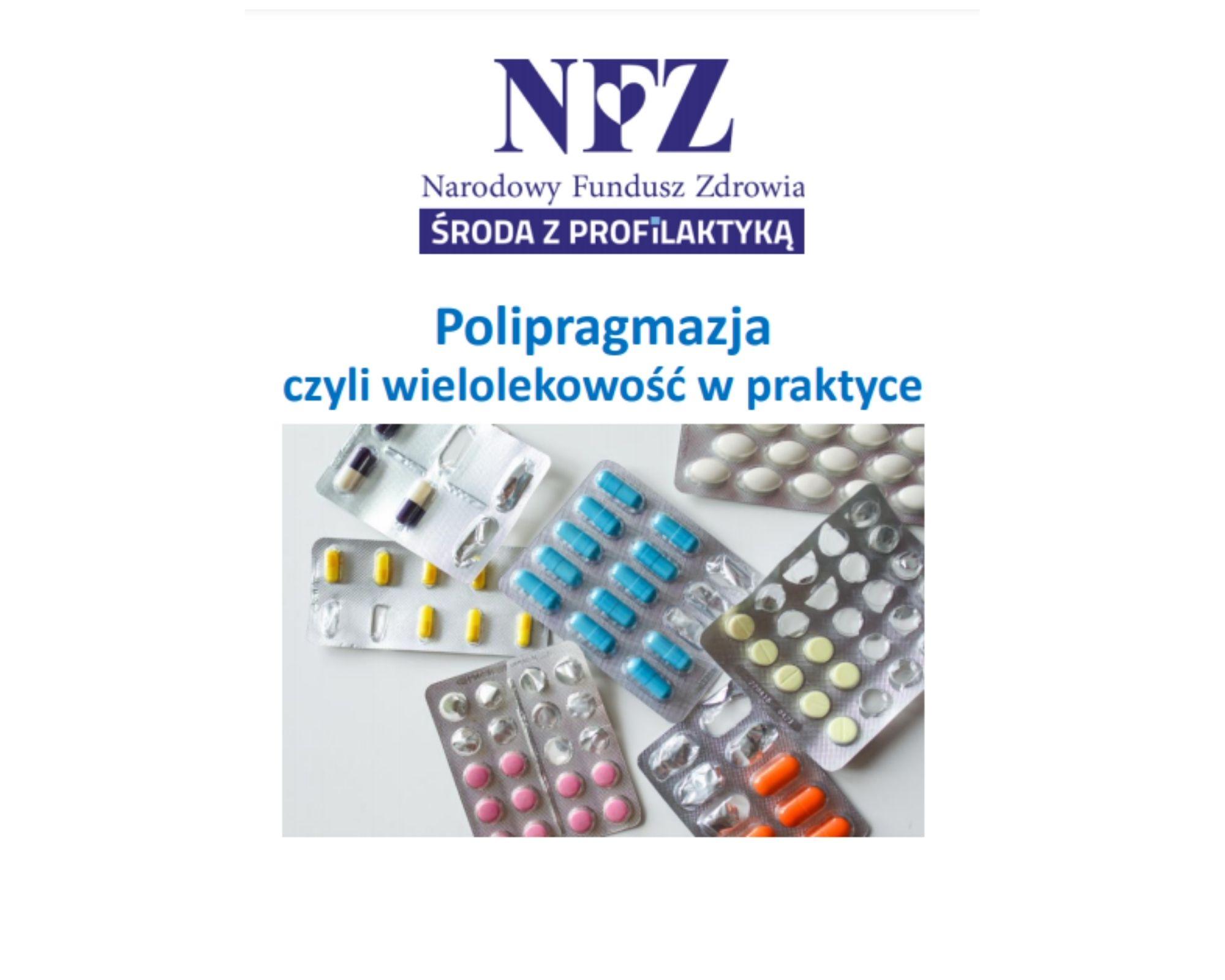 Ilustracja do informacji: Środa z profilaktyką - polipragmazja czyli wielolekowość w praktyce