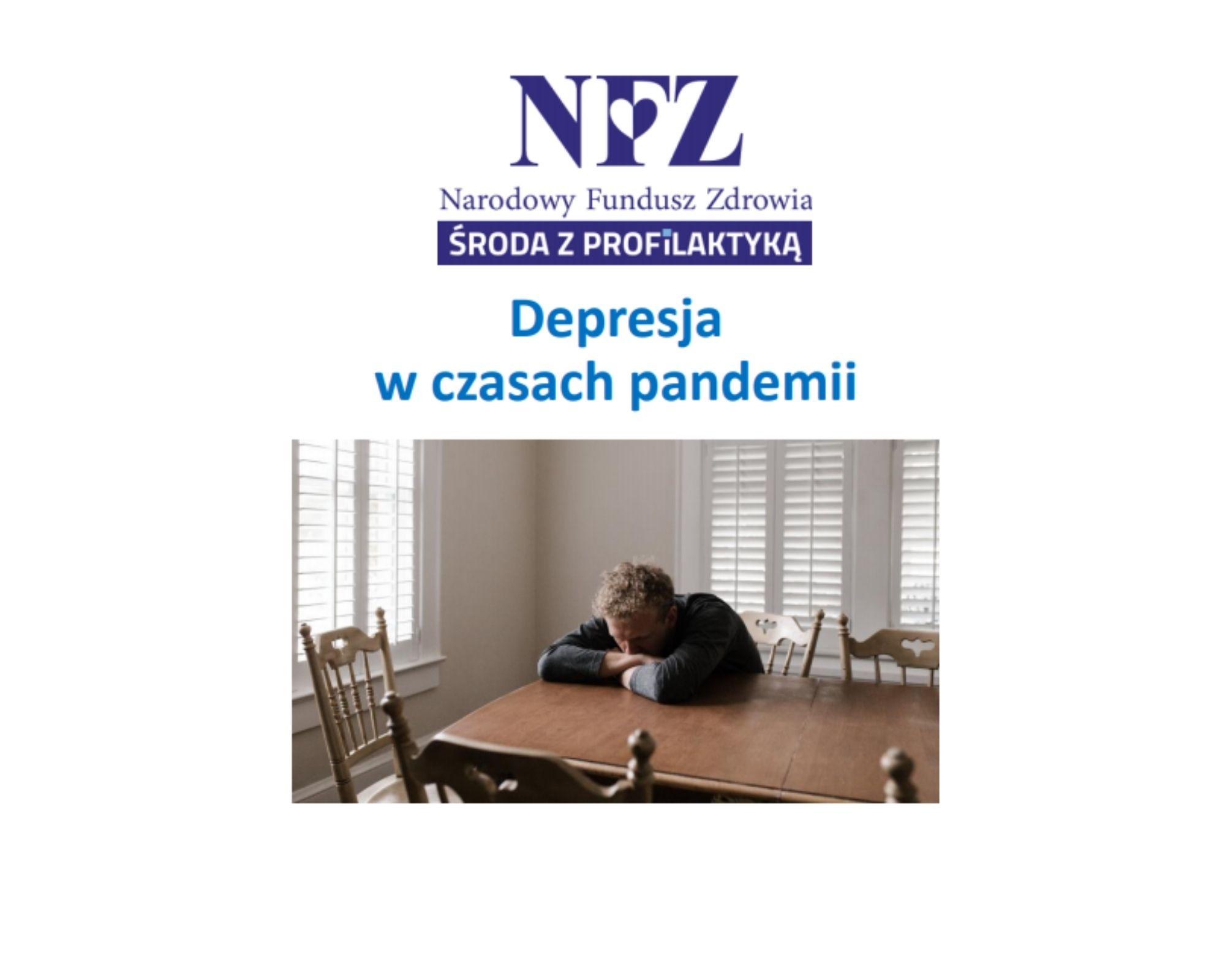 Ilustracja do informacji: Środa z profilaktyką - Depresja w czasach pandemii