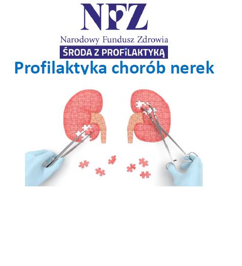 Ilustracja do informacji: Środa z profilaktyką - profilaktyka chorób nerek
