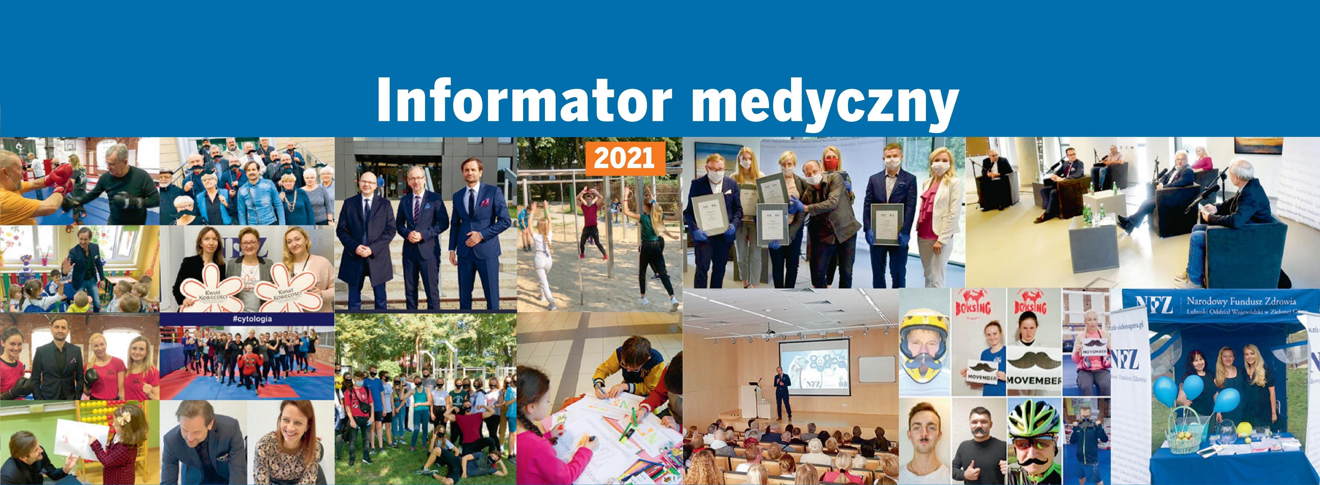 Ilustracja do informacji: Gdzie się leczyć w Lubuskiem? Informator medyczny NFZ 2021