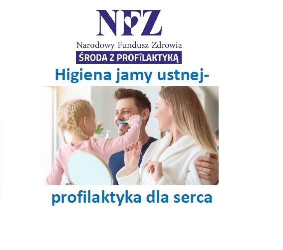 Ilustracja do informacji: Środa z profilaktyką - higiena jamy ustnej - profilaktyka dla serca