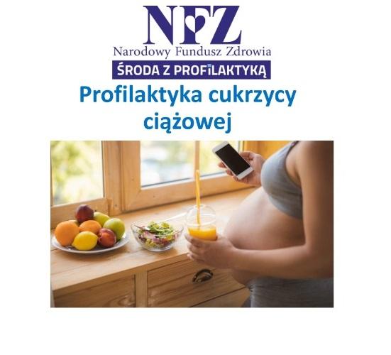 Ilustracja do informacji: Środa z profilaktyką - profilaktyka cukrzycy ciążowej