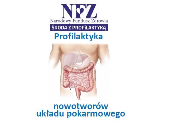 Ilustracja do informacji: Środa z profilaktyką - profilaktyka nowotworów układu pokarmowego