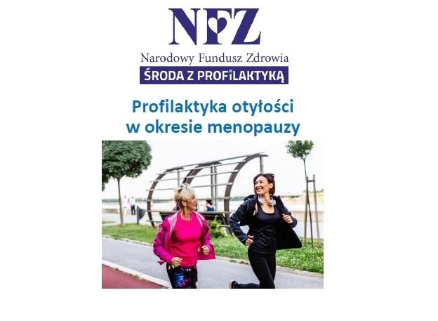 Ilustracja do informacji: Środa z profilaktyką - profilaktyka otyłości w okresie menopauzy