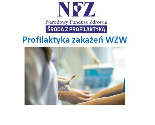 Ilustracja do informacji: Środa z profilaktyką - profilaktyka zakażeń WZW