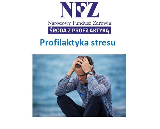 Ilustracja do informacji: Środa z profilaktyką - profilaktyka stresu