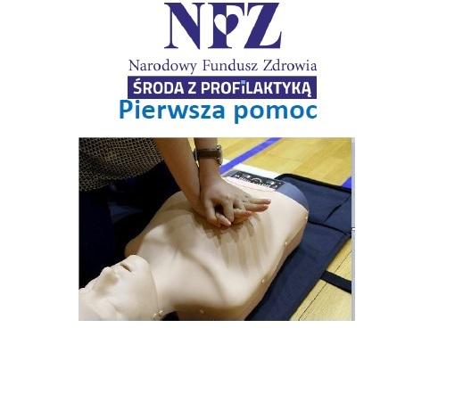 Ilustracja do informacji: Środa z profilaktyką - pierwsza pomoc