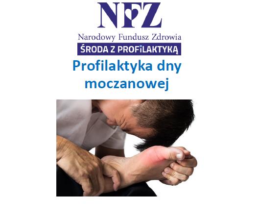 Ilustracja do informacji: Środa z profilaktyką - profilaktyka dny moczanowej