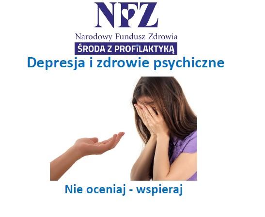 Ilustracja do informacji: Środa z profilaktyką - depresja i zdrowie psychiczne