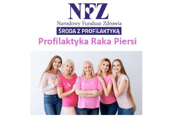 Ilustracja do informacji: Środa z profilaktyką - profilaktyka raka piersi