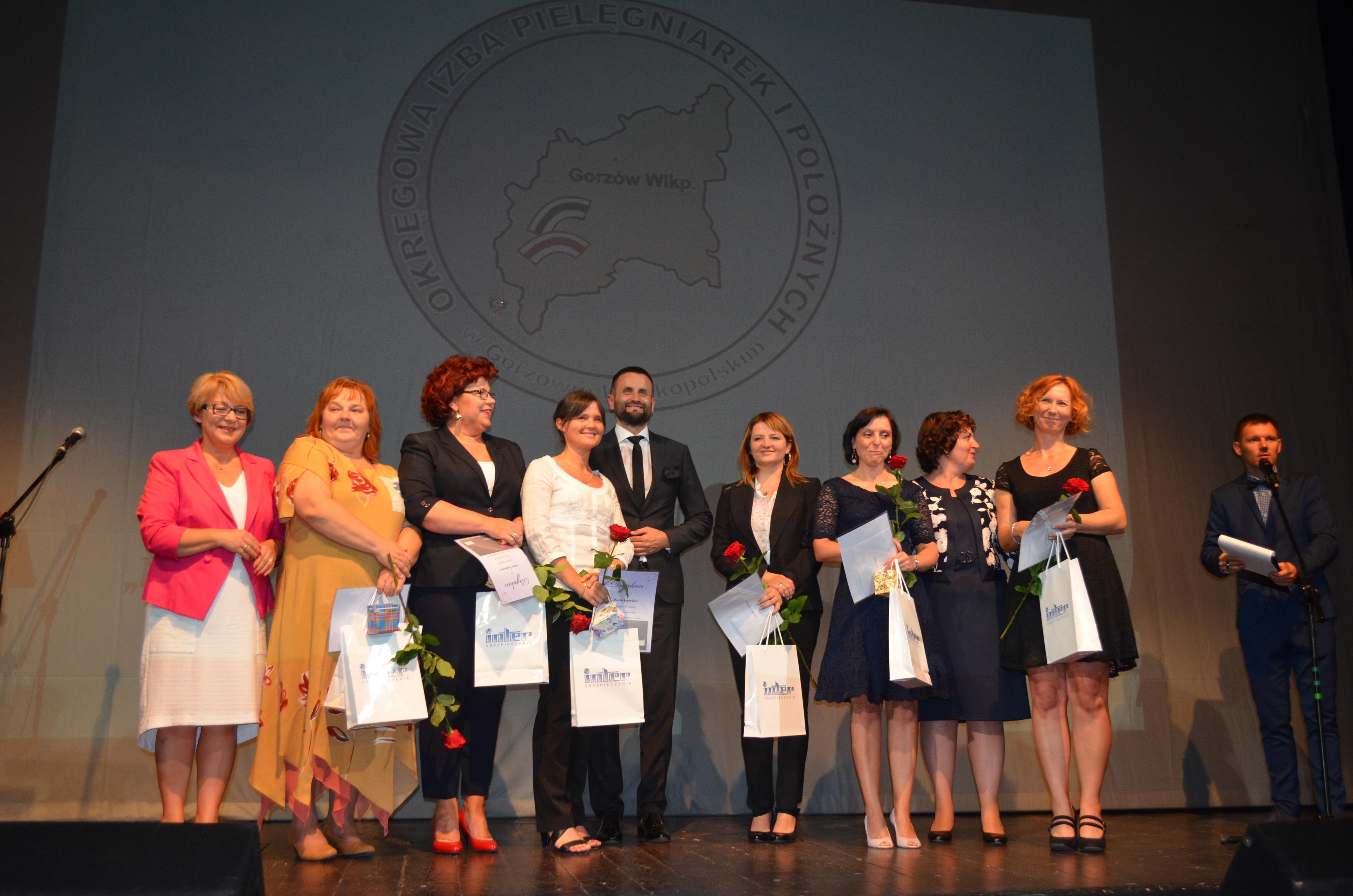 Ilustracja do informacji: 25-lecia samorządu zawodowego Okręgowej Izby Pielęgniarek i Położnych w Gorzowie Wlkp.