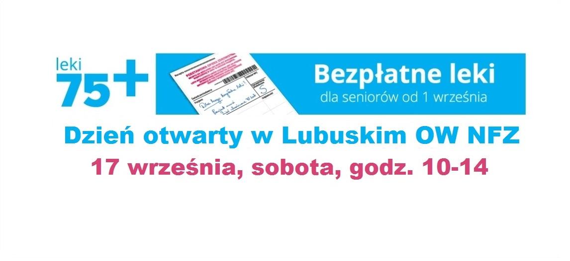 """Ilustracja do informacji: Dzień Otwarty pod hasłem """"NFZ bliżej Pacjenta - Leki 75+"""""""
