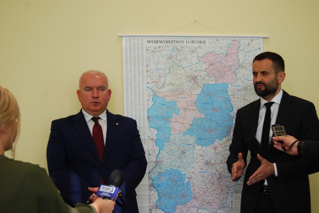 Ilustracja do informacji: Briefing prasowy w sprawie sytuacji szpitala w Krośnie Odrzańskim