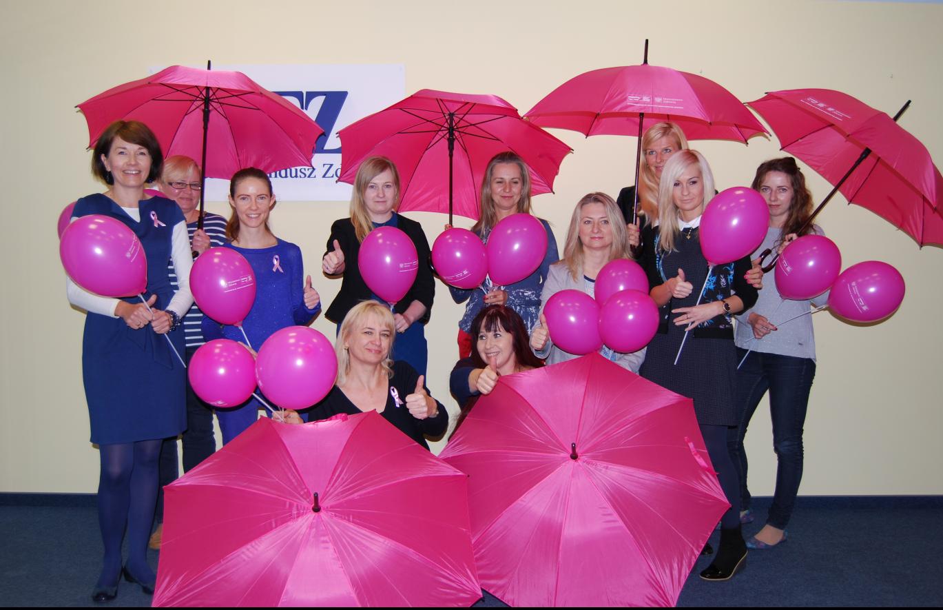 Ilustracja do informacji: LOW NFZ przypomina: październik miesiącem profilaktyki raka piersi