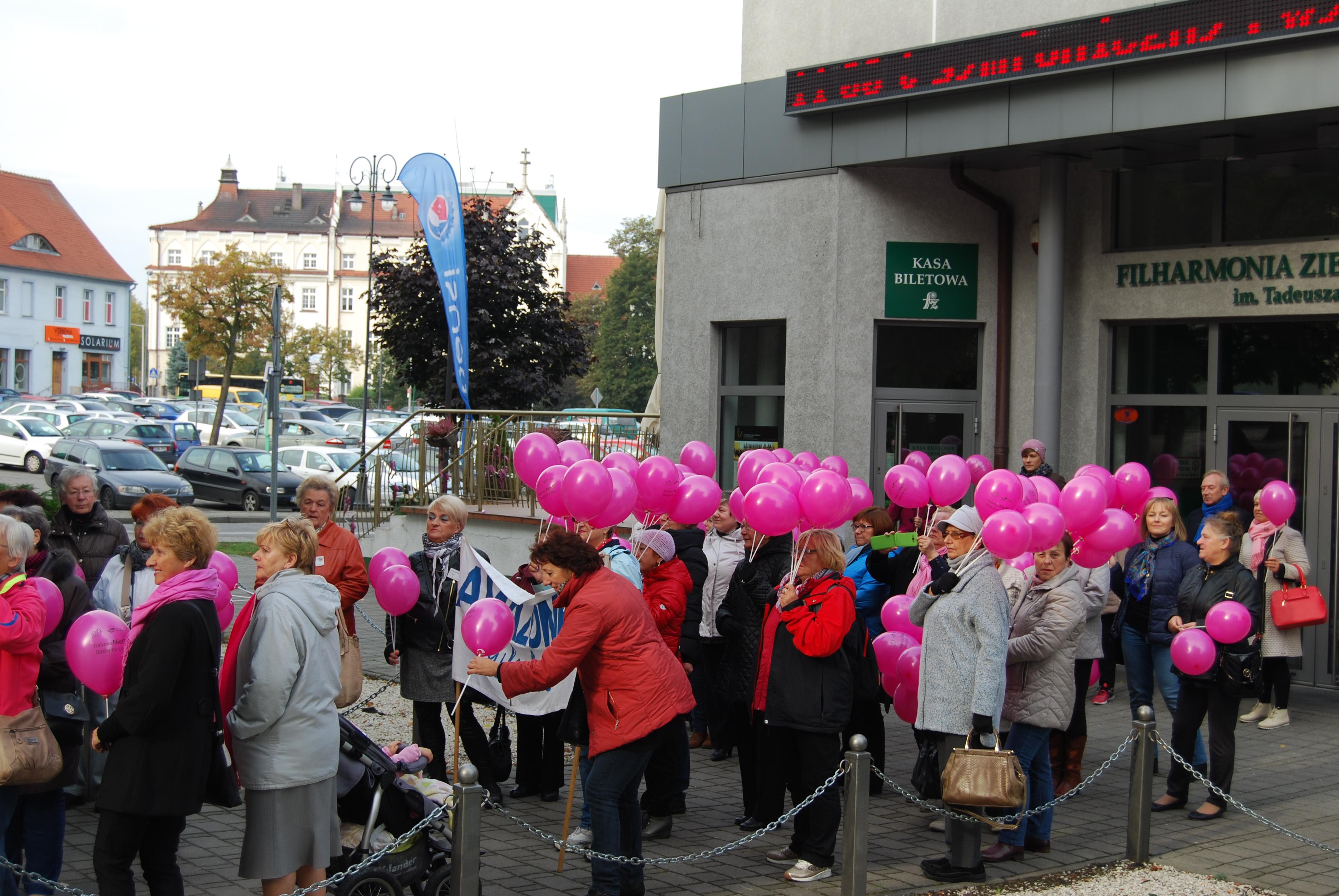 Ilustracja do informacji: LOW NFZ na lubuskich obchodach Światowego Dnia Walki z Rakiem