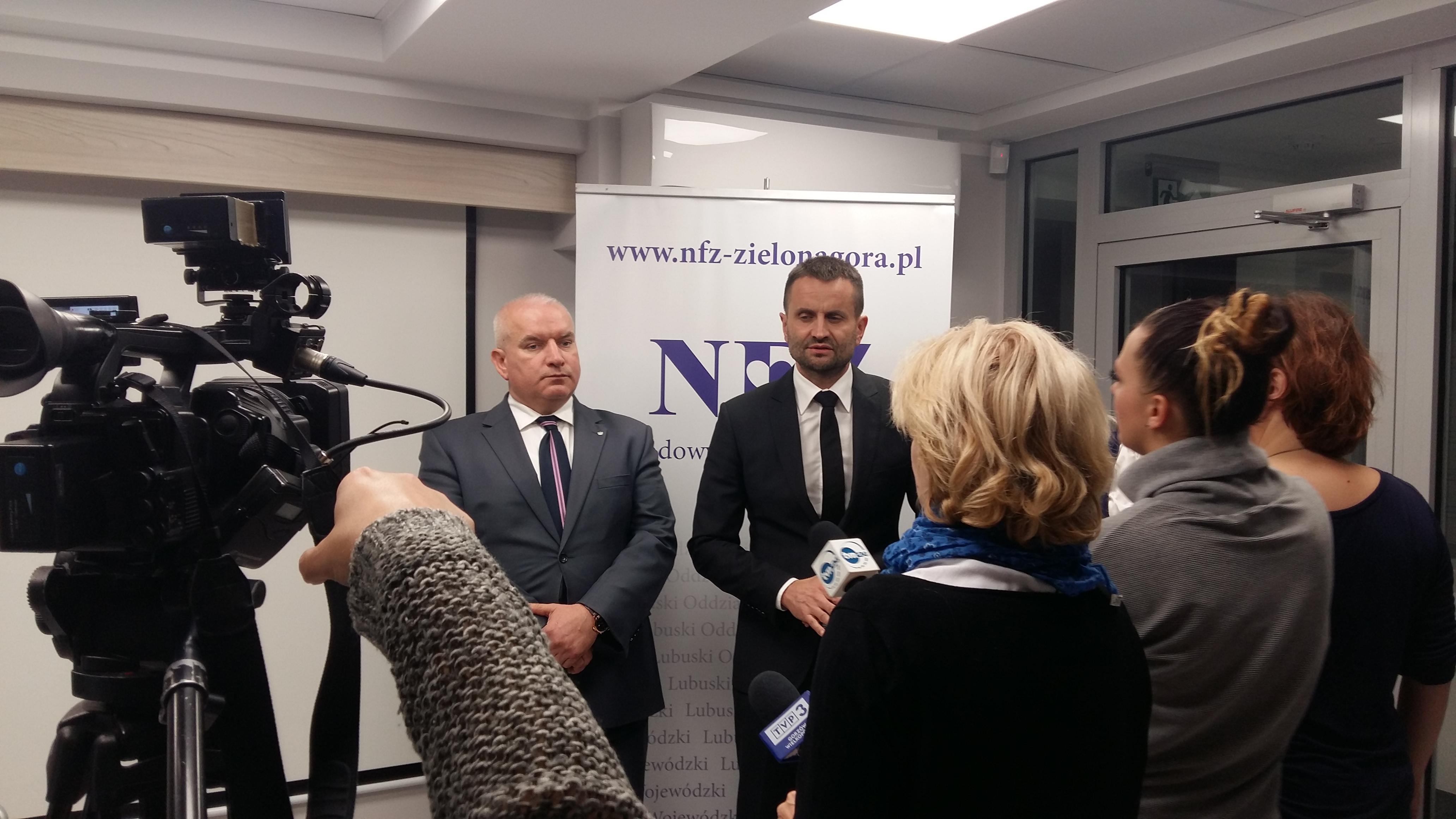 Ilustracja do informacji: Konferencja prasowa dotycząca zabezpieczenia świadczeń opieki zdrowotnej na terenie powiatu krośnieńskiego