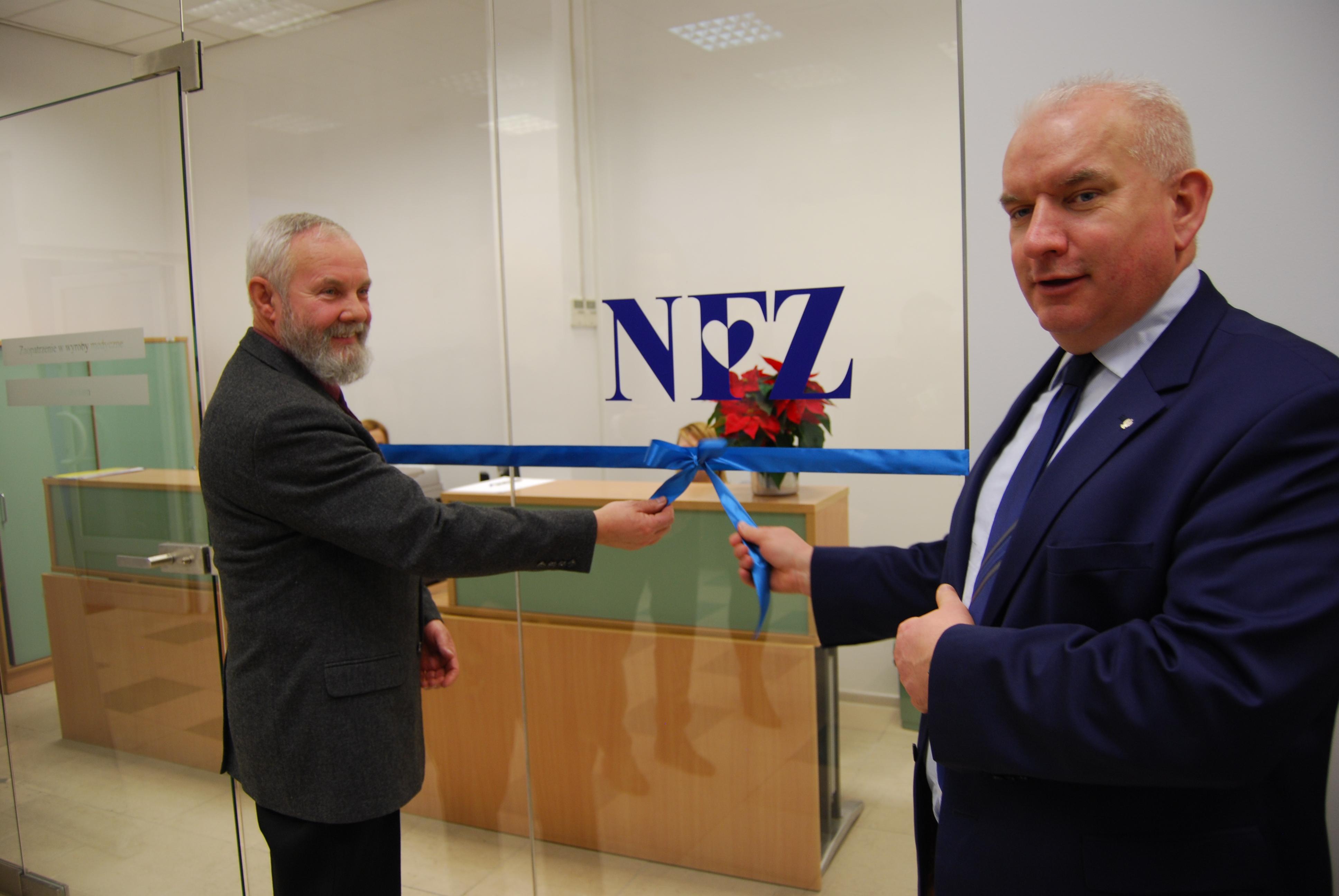 Ilustracja do informacji: Uroczyste otwarcie nowej siedziby Delegatury LOW NFZ w Gorzowie Wlkp.
