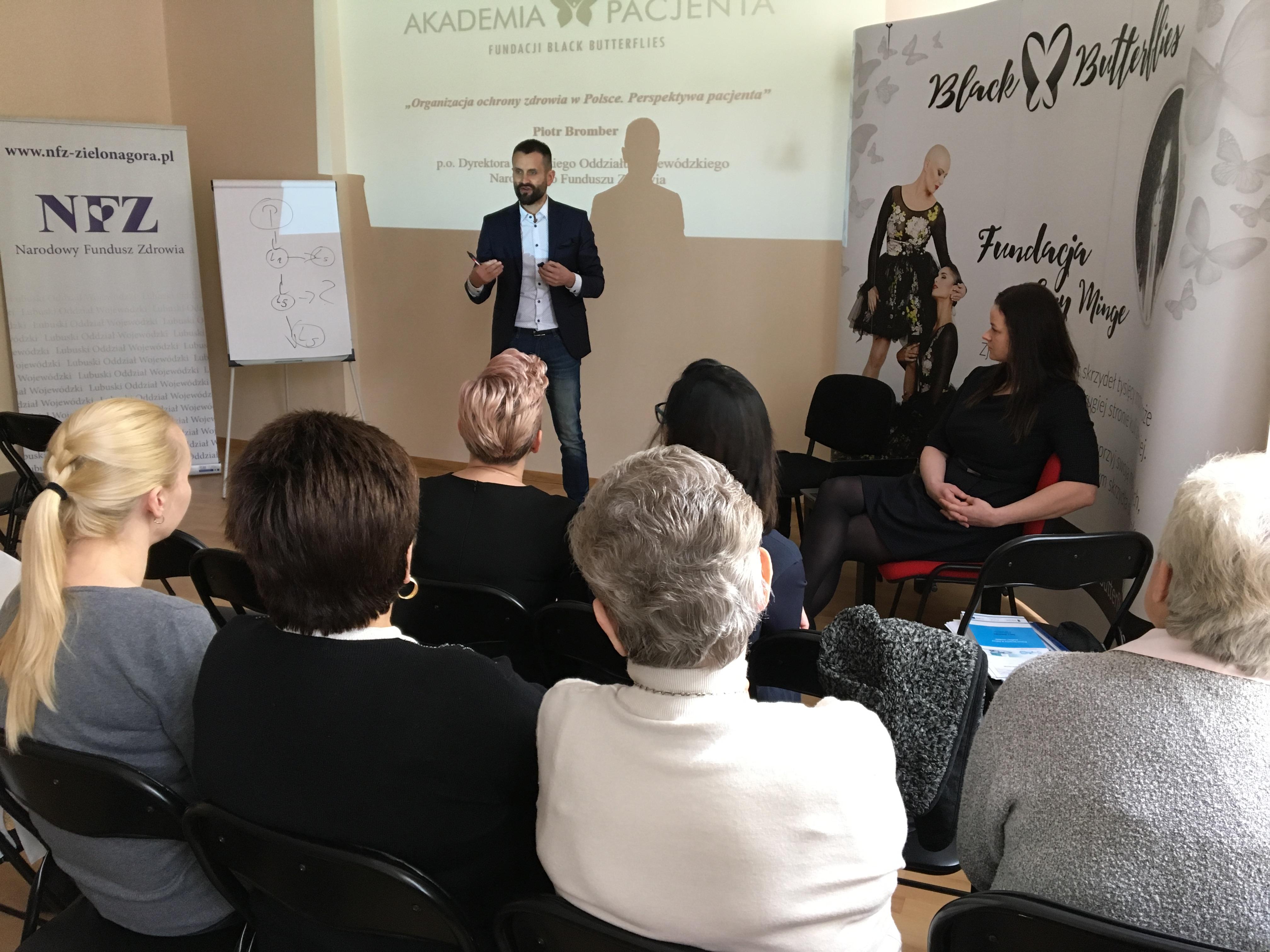 """Ilustracja do informacji: LOW NFZ w ramach """" Akademii Pacjenta"""""""