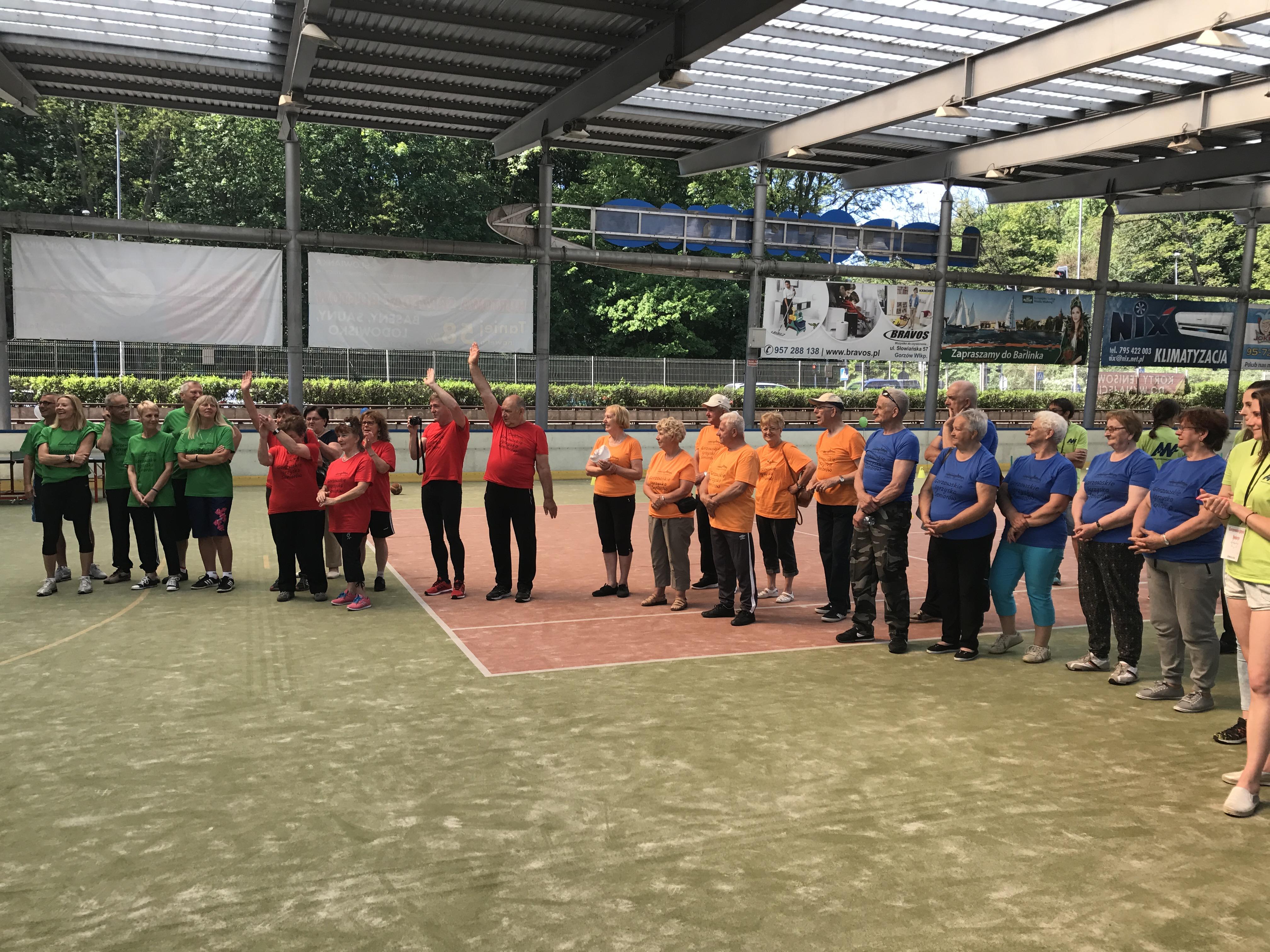 Ilustracja do informacji: LOW NFZ na Gorzowskich Igrzyskach Seniorów