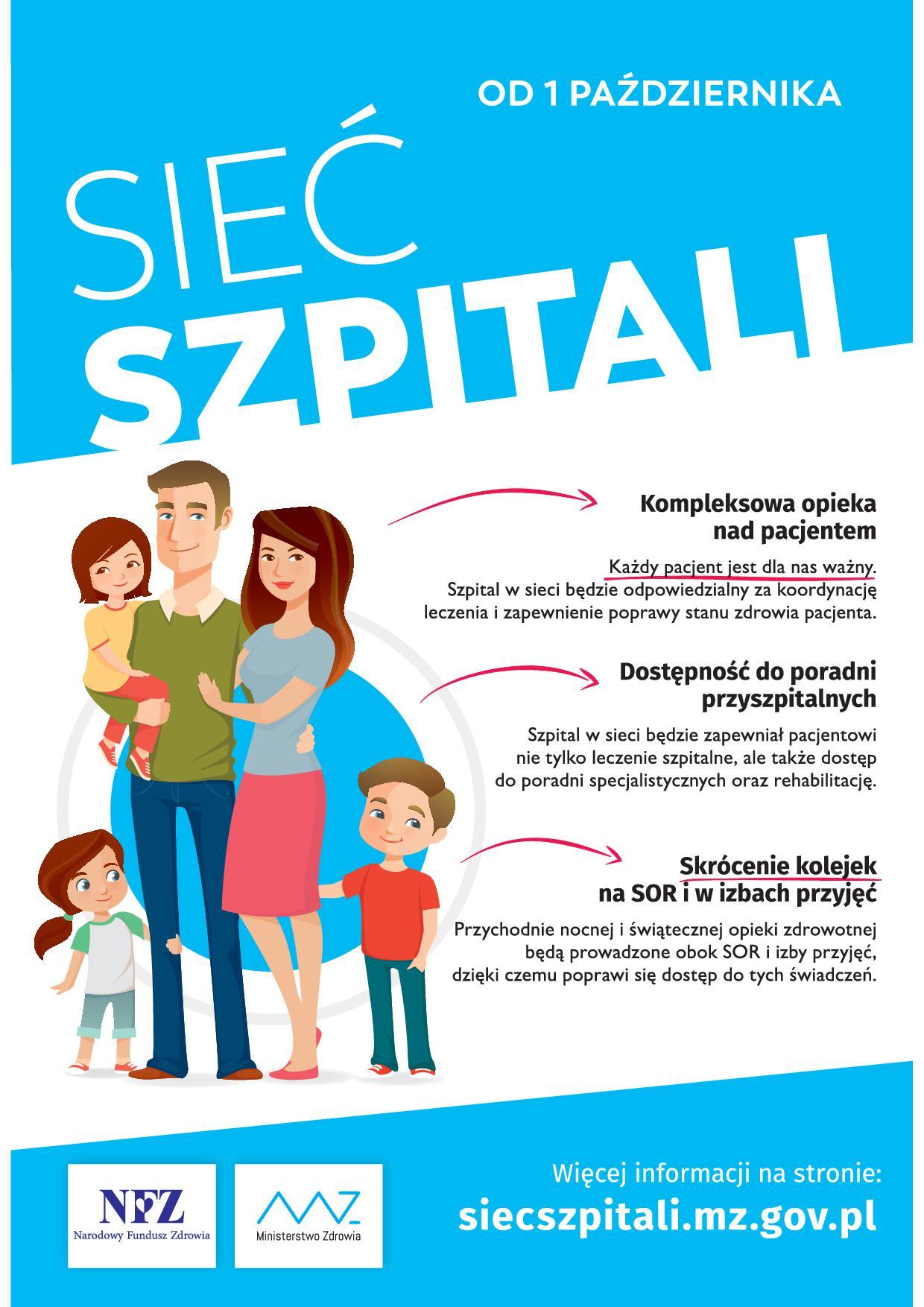 Ilustracja do informacji: Dyrektor Lubuskiego Oddziału Wojewódzkiego NFZ 27 czerwca opublikował wykaz szpitali zakwalifikowanych do Systemu Podstawowego Szpitalnego Zabezpieczenia Świadczeń Opieki Zdrowotnej.