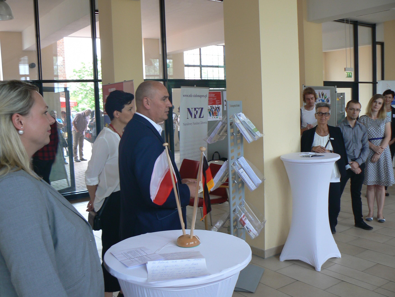 """Ilustracja do informacji: LOW NFZ na """"2 Polsko-Niemieckim Dniu Informacyjnym"""""""