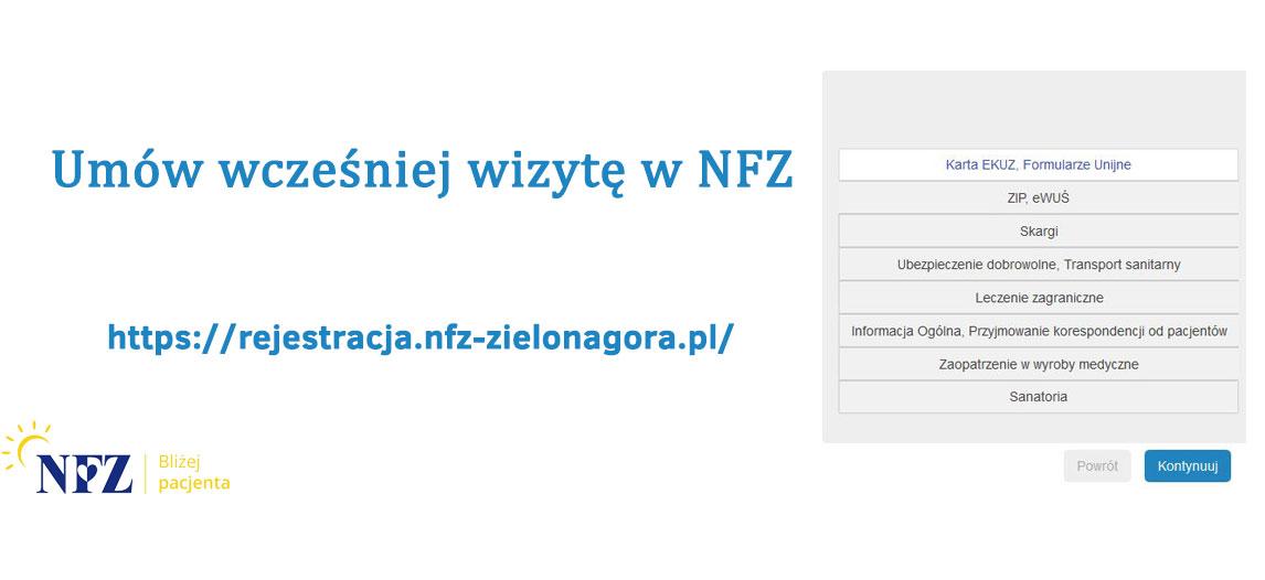 Ilustracja do informacji: Umów wizytę w NFZ