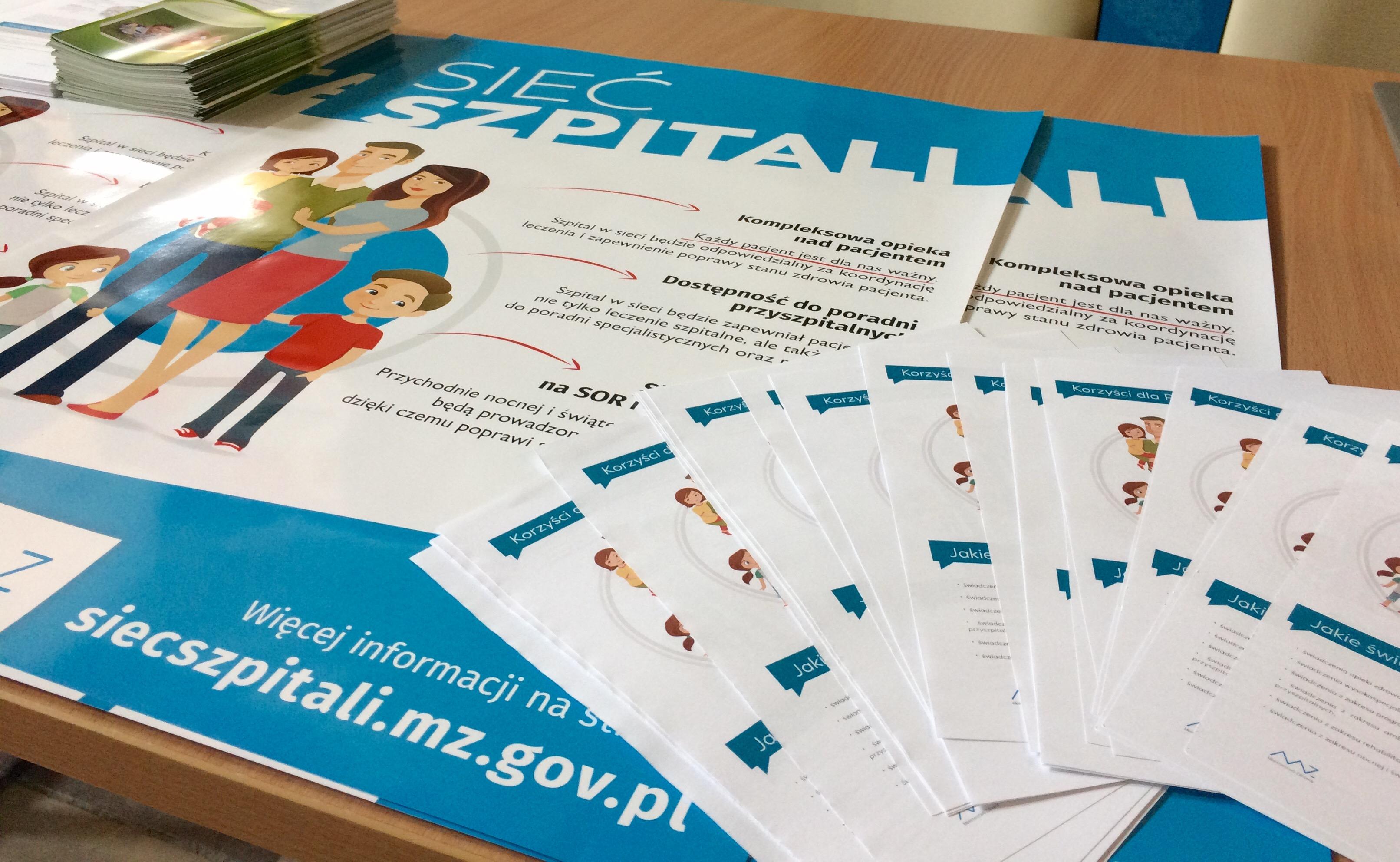 """Ilustracja do informacji: Ogólnopolska kampania informacyjna na temat """" sieci szpitali"""" podsumowanie wizyty w Wielospecjalistycznym Szpitalu Wojewódzkim w dniu 20 września"""