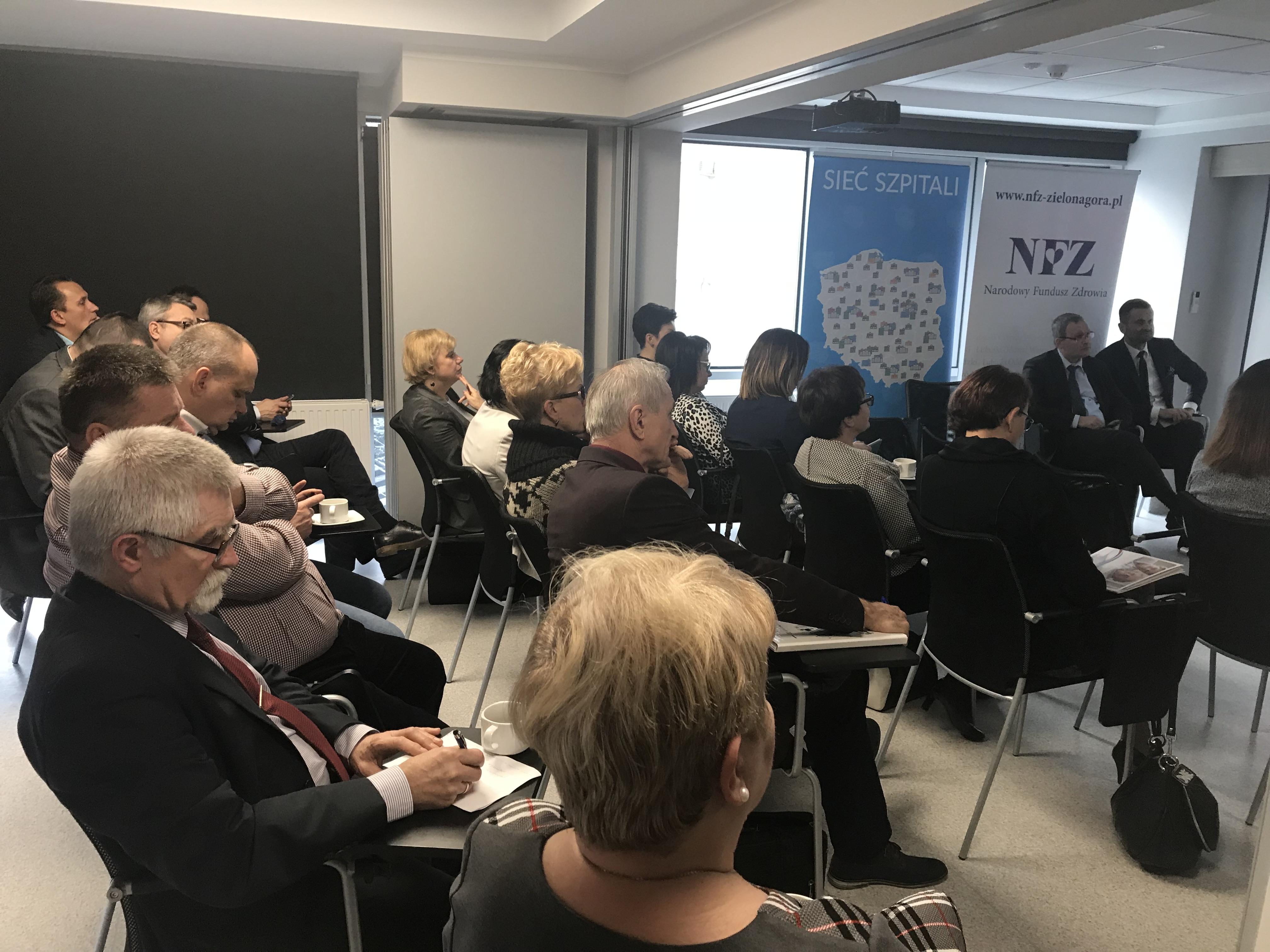 Ilustracja do informacji: Spotkanie podsumowujące wdrożenie PSZ w województwie lubuskim