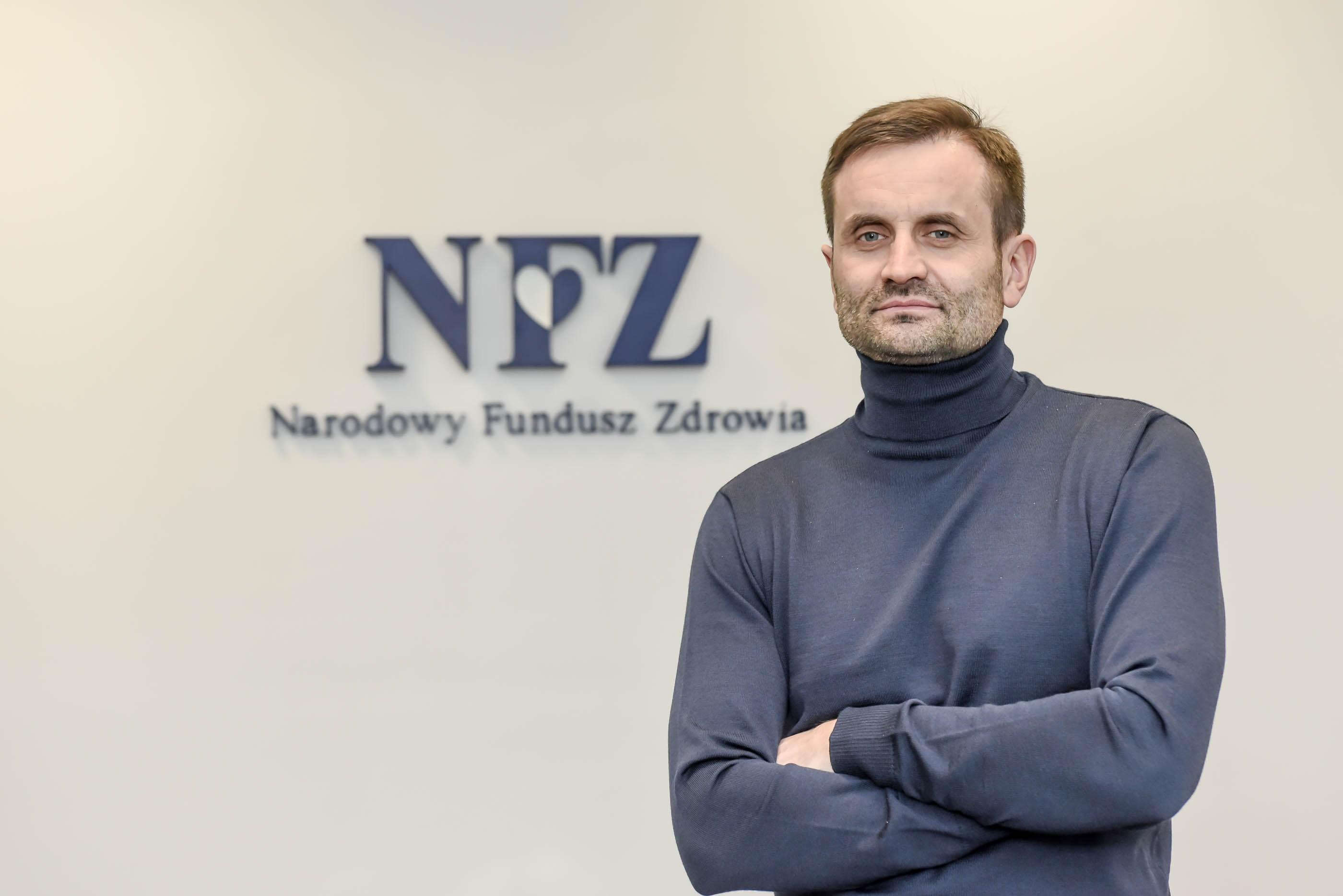 """Ilustracja do informacji: """"Pieniądze już są, tylko lekarzy brak"""" wywiad z Piotrem Bromberem p.o. Dyrektora LOW NFZ"""
