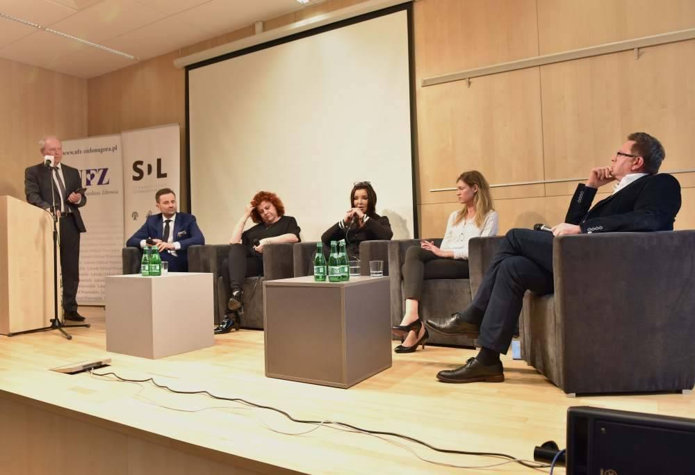 """Ilustracja do informacji: Debata """" Relacja pacjent-lekarz-płatnik"""" i uroczyste rozstrzygnięcie konkursu dla dziennikarzy lubuskich mediów."""
