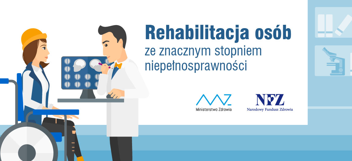 Ilustracja do informacji: Rehabilitacja osób ze znacznym stopniem niepełnosprawności