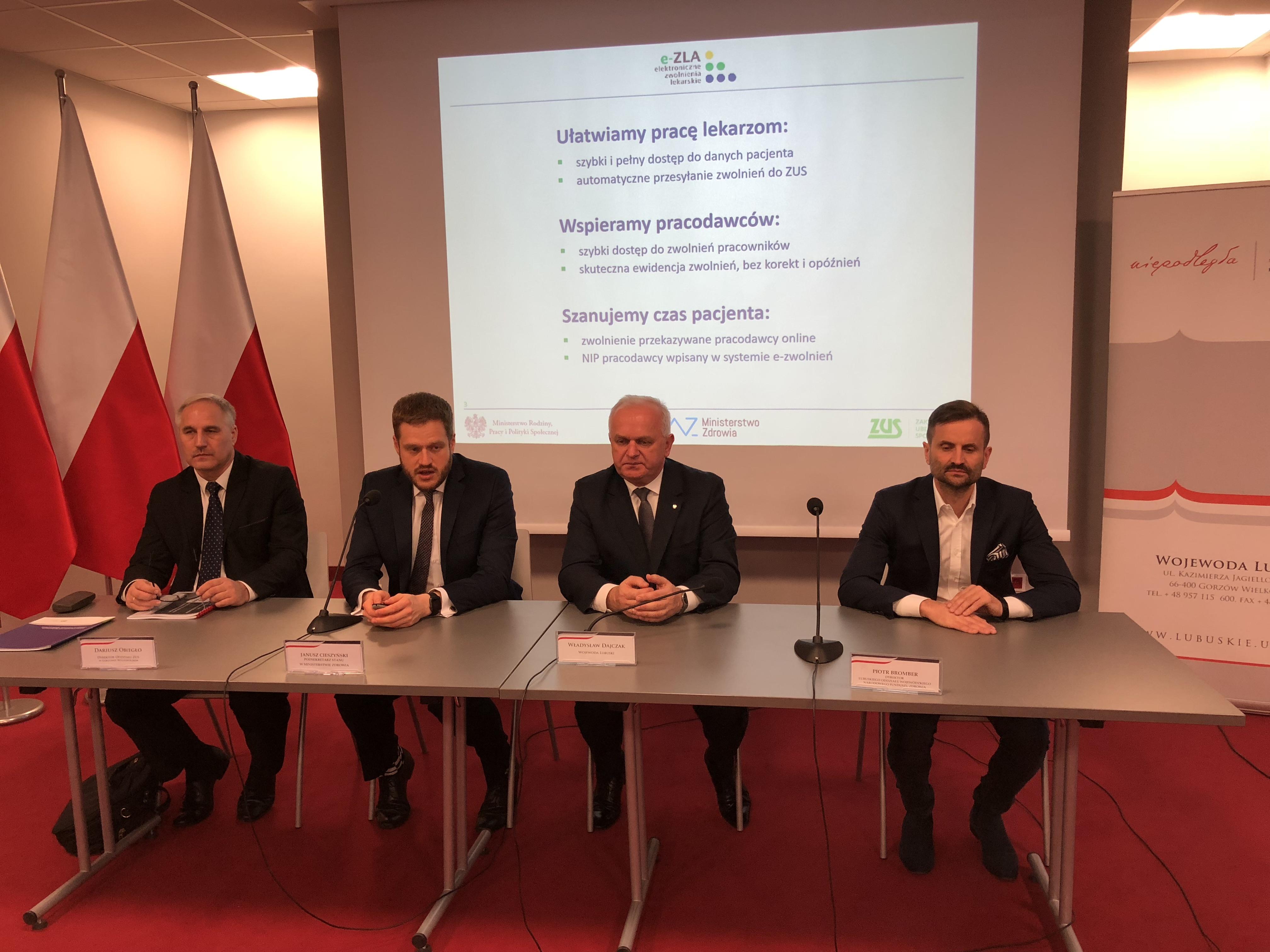 Ilustracja do informacji: Konferencja na temat wdrażania e-zwolnień