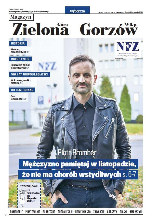 """Ilustracja do informacji: """"Mężczyzno pamiętaj w listopadzie, że nie ma chorób wstydliwych"""" wywiad z Piotrem Bromberem Dyrektorem LOW NFZ"""