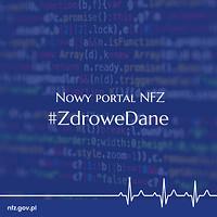 Ilustracja do informacji: Zdrowe dane - nowy portal informacyjny NFZ
