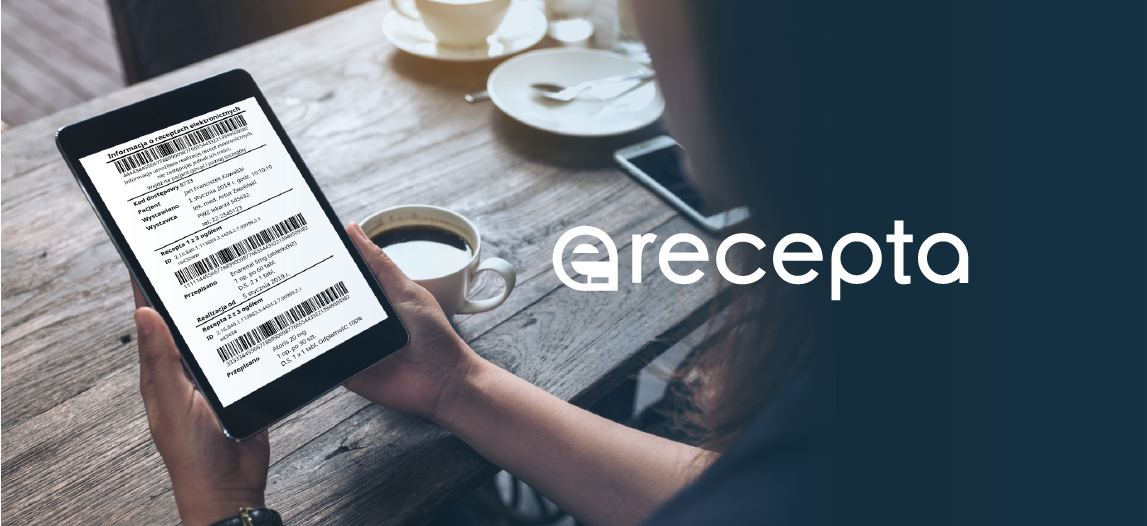 Ilustracja do informacji: e-recepta – kolejny krok w cyfryzacji ochrony zdrowia