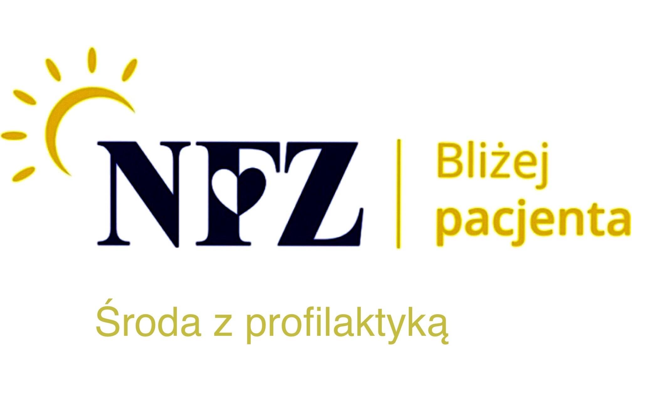 Baner: środa z profilaktyką 2020 harmonogram