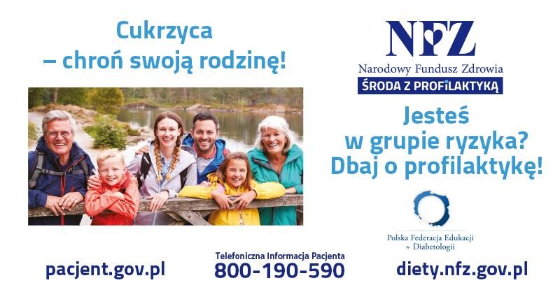 Ilustracja do informacji: Środa z Profilaktyką - Cukrzyca