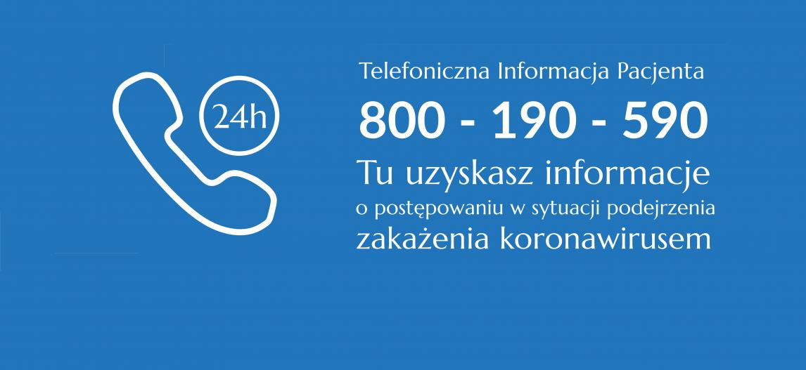 Ilustracja do informacji: Telefoniczna Informacja Pacjenta