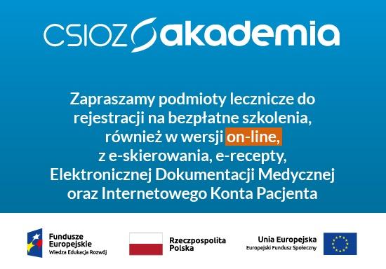 Ilustracja do informacji: Bezpłatne szkolenie on-line z Elektronicznej Dokumentacji Medycznej