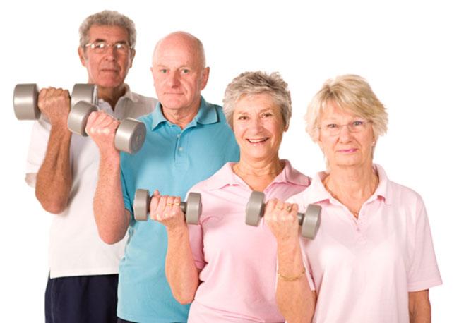 Ilustracja do informacji: Aktywność fizyczna polecana osobom starszym