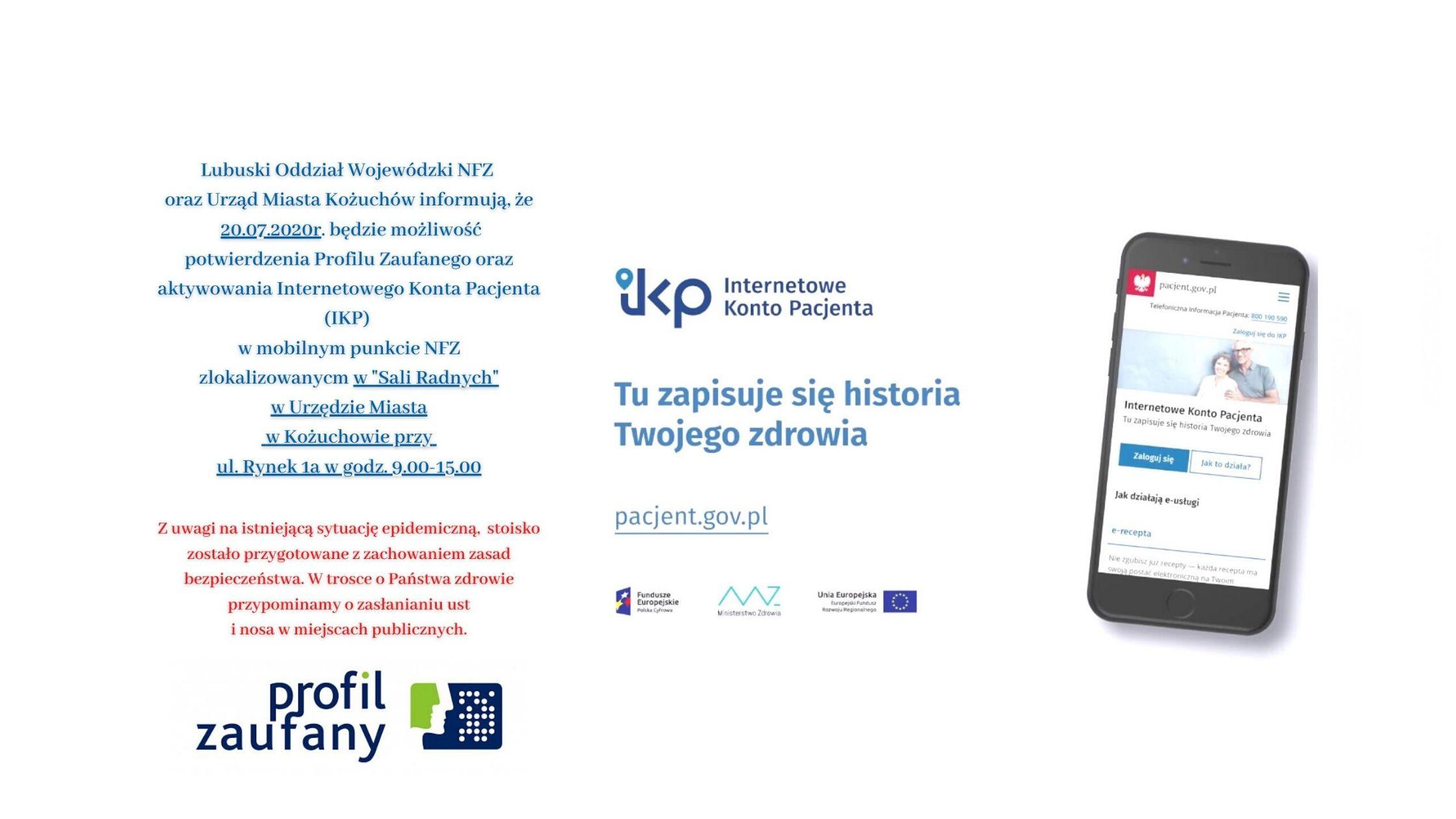 Ilustracja do informacji: Mobilny Punkt NFZ w Urzędzie Miasta w Kożuchowie