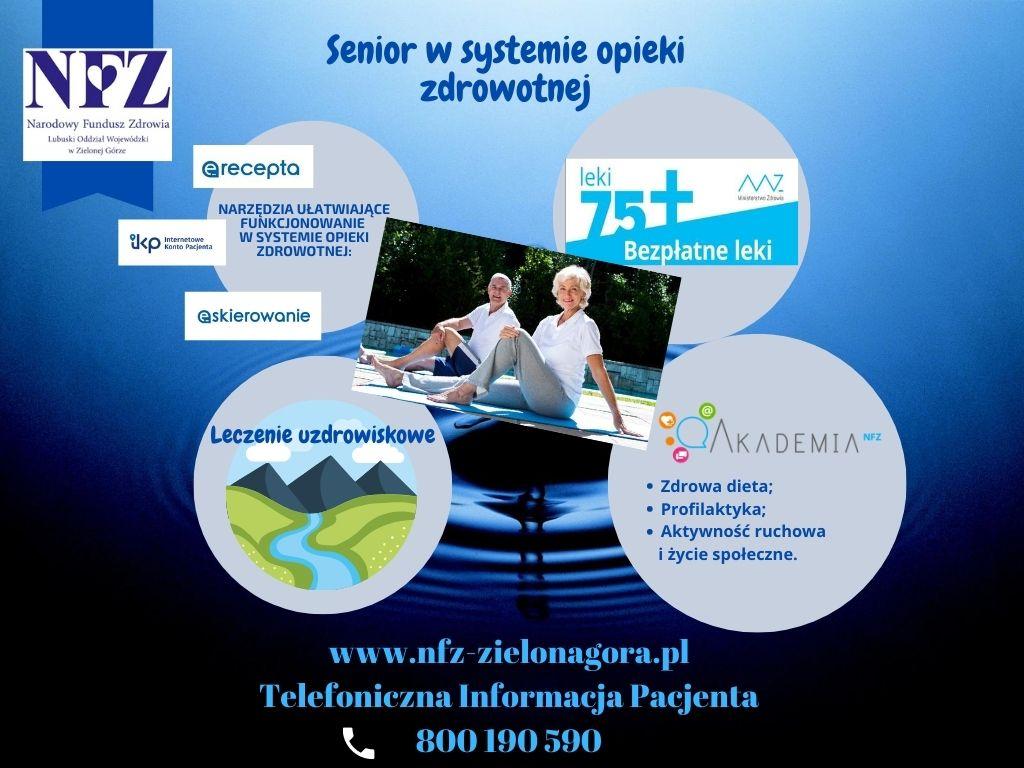 Ilustracja do informacji: Zdrowie seniora