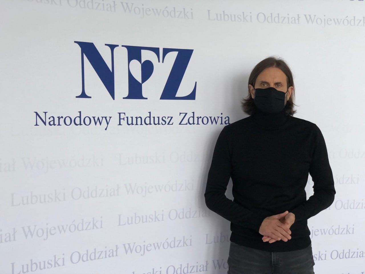 Ilustracja do informacji: Rozmowa z Dyrektorem LOW NFZ - Piotrem Bromberem