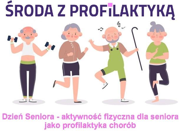 Ilustracja do informacji: Środa z profilaktyką – Dzień Seniora