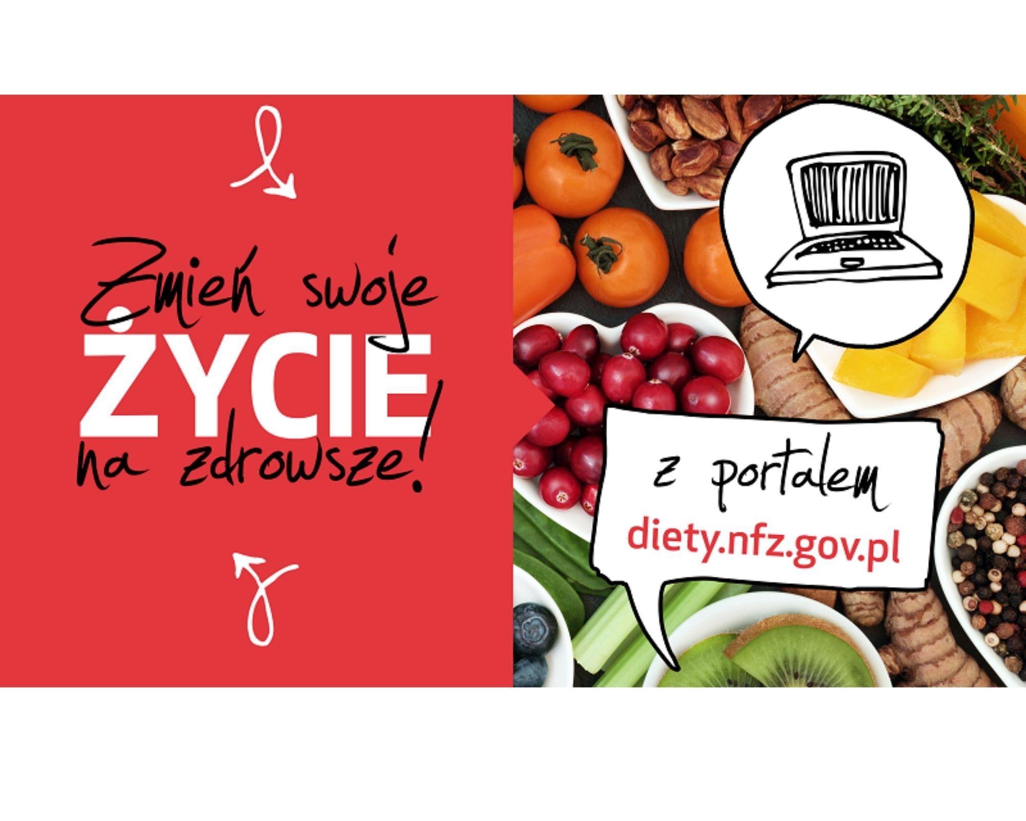 Ilustracja do informacji: Zdrowa dieta – elementem profilaktyki zdrowotnej